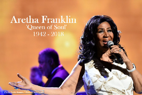 #RIP: The â??Queen of Soul,â?? Aretha Franklin, dies at 76 https://t.co/Ssem9QNnVU